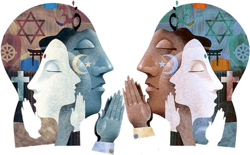 Intento di pace tra le tre religioni monoteiste