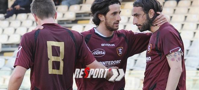 La Salernitana conquista la Supercoppa. Batte 2-1 il Pro Patria e può festeggiare